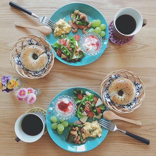 デリスタグラマーさん愛用のブルーのお皿3