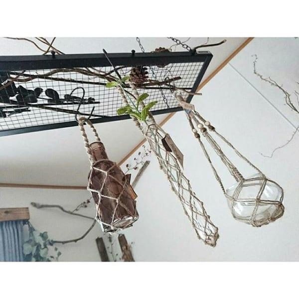 オシャレな観葉植物の飾り方17