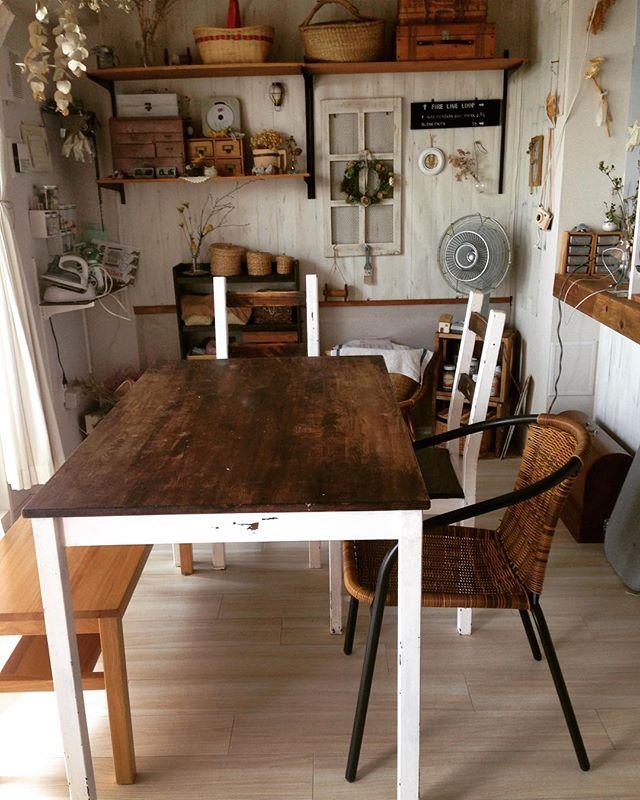ダイニングテーブル インテリア実例4