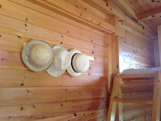 春を楽しむ方法 麦わら帽子