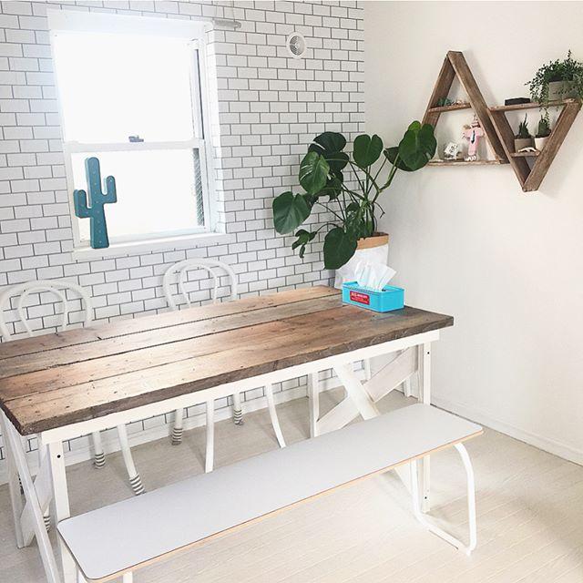 ダイニングテーブル 天板 長方形