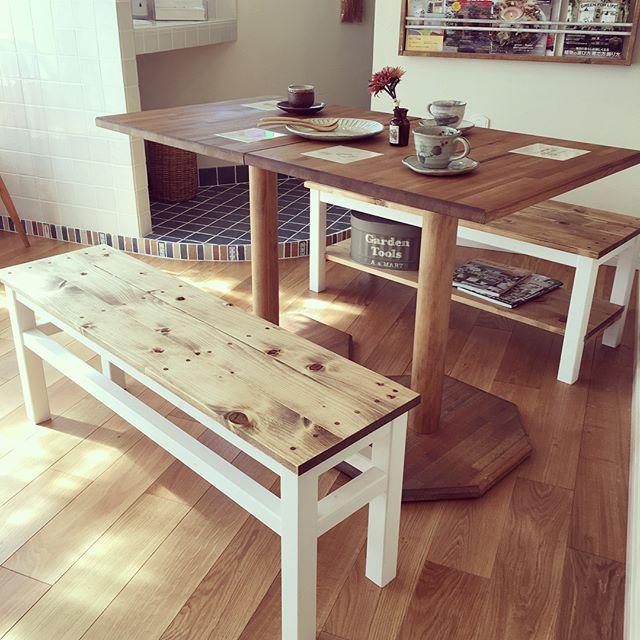 ダイニングテーブル ベンチ