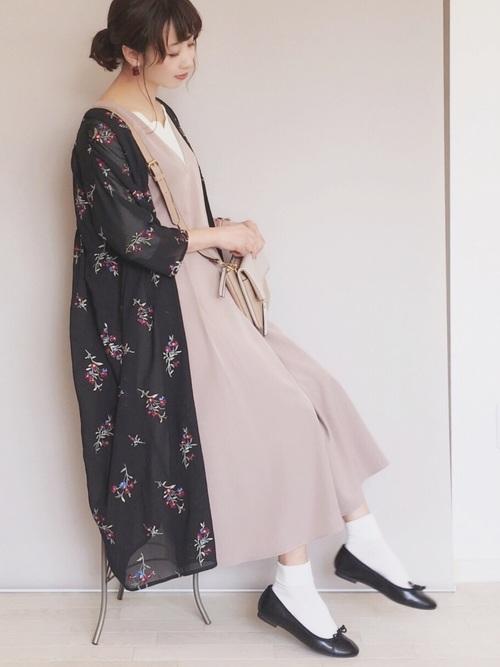 【WEB限定色追加♪】タックジャンパースカート
