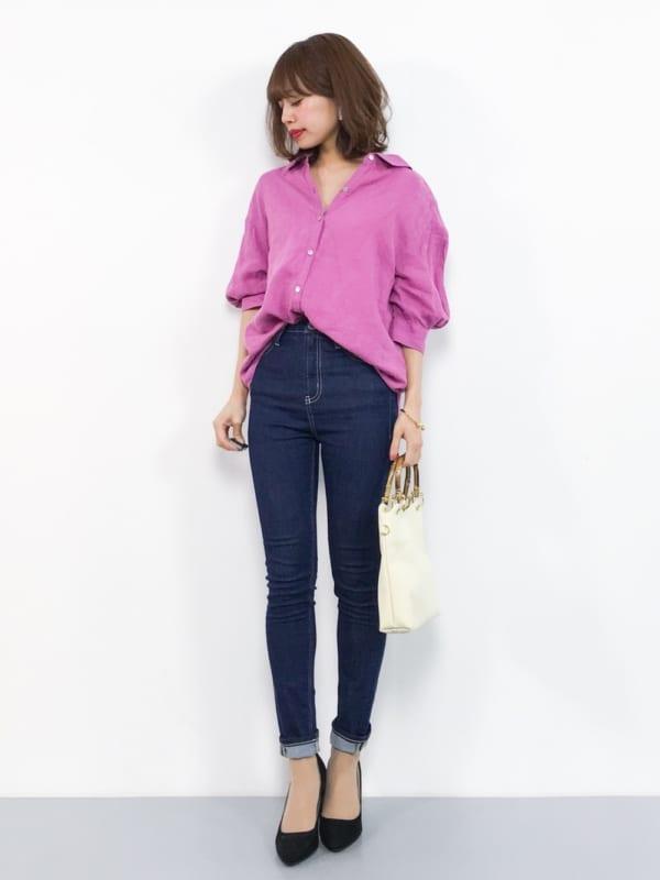 リネンシャツ8