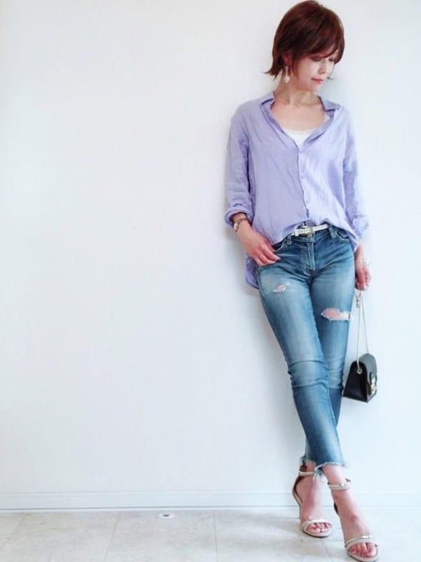 リネンシャツ10