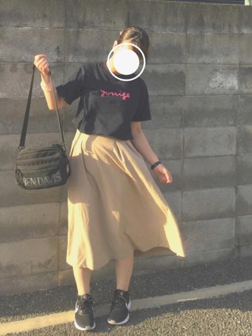 ライブコーデ スカート