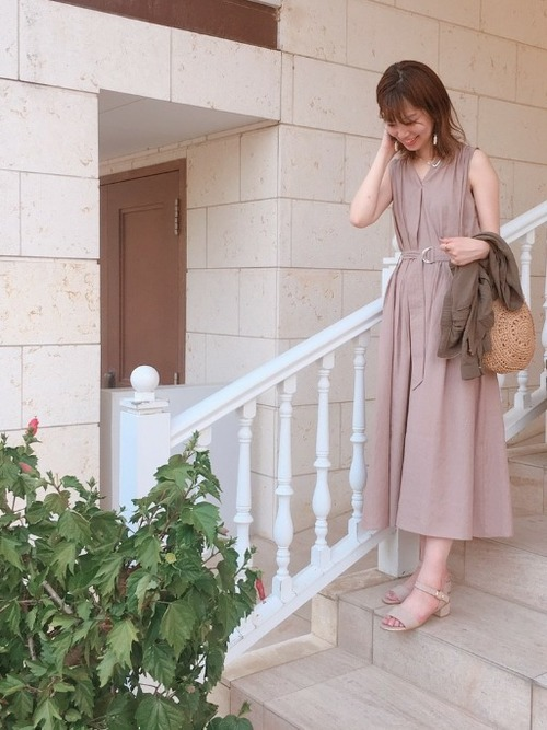 natural couture ワンピース
