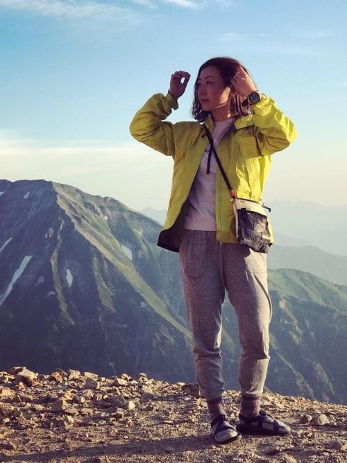 低山登山におすすめ:カジュアルコーデ2