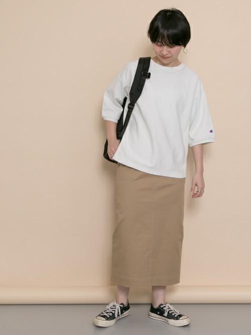 [URBAN RESEARCH DOORS] ワイドベルトIラインスカート