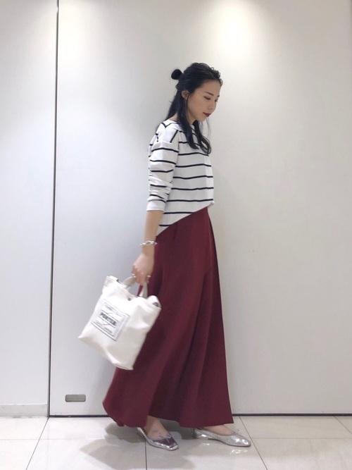 [URBAN RESEARCH] 小谷実由×URBAN RESEARCH タックロングスカート