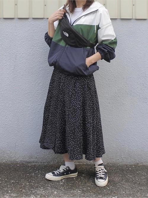 配色マウンテンパーカー/ブルゾン3