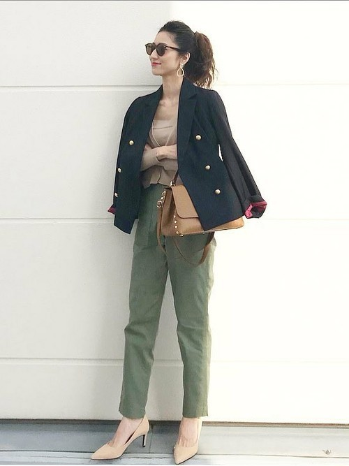 【STYLEBAR】ダブルショートジャケット