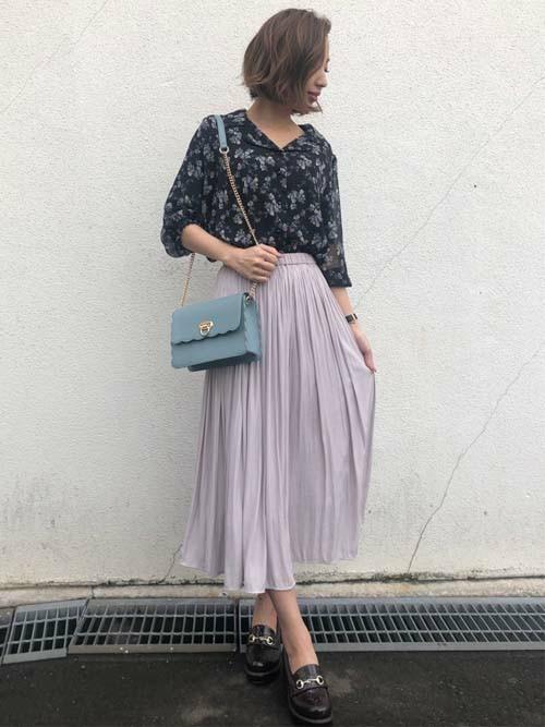 [INGNI] 【3/1ヒルナンデスご紹介商品】スカラップチェーンバッグ