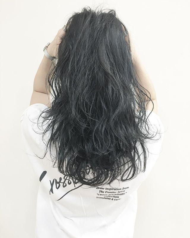 黒髪セミロング43