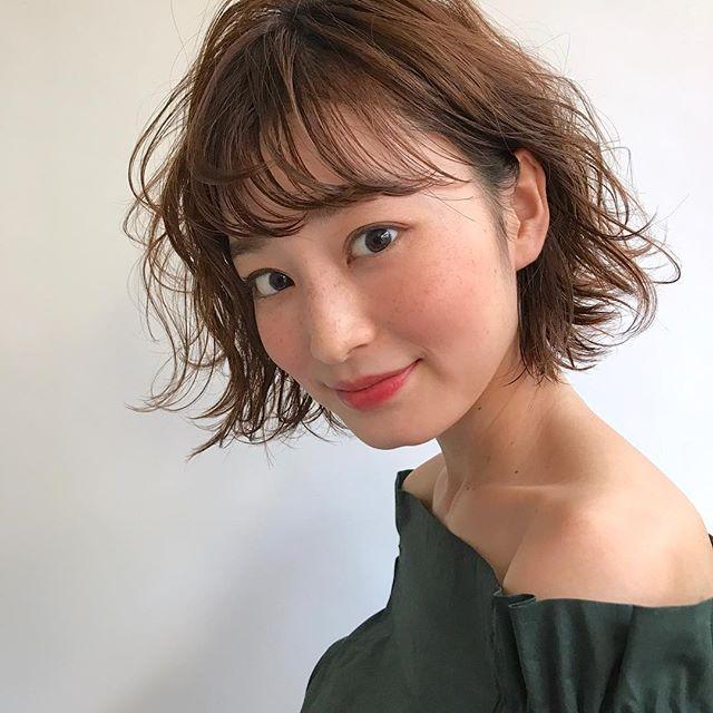 2019 モテる髪型 シースルーバング