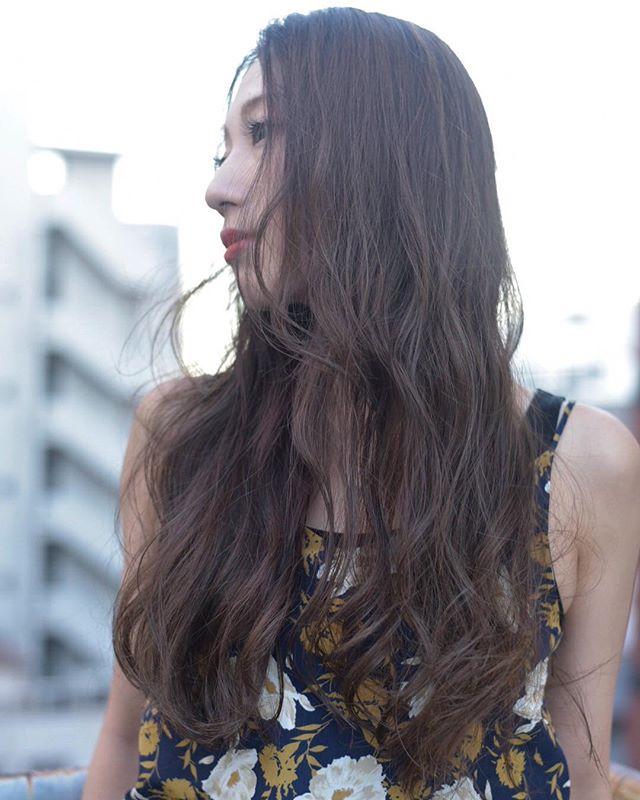 くせ毛のパーマ風アレンジ④ロングヘア4