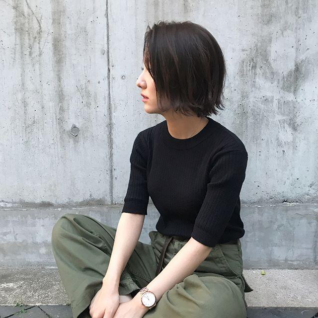 黒髪ヘアスタイル2