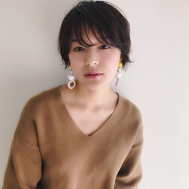 2019 モテる髪型 ショートヘア