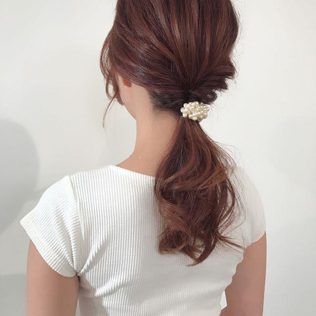 くせ毛を生かすヘアアレンジ6