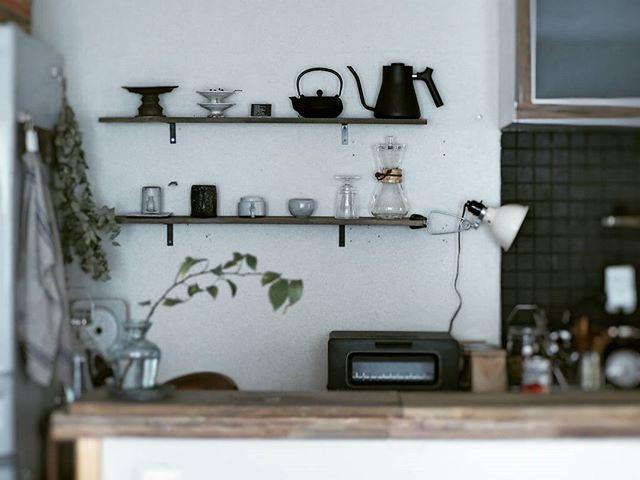 出しっぱなし収納 キッチンアイテム3