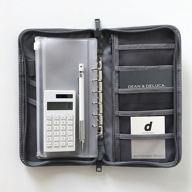 ポリエステルパスポートケース・クリアポケット付②通帳ケースに使う
