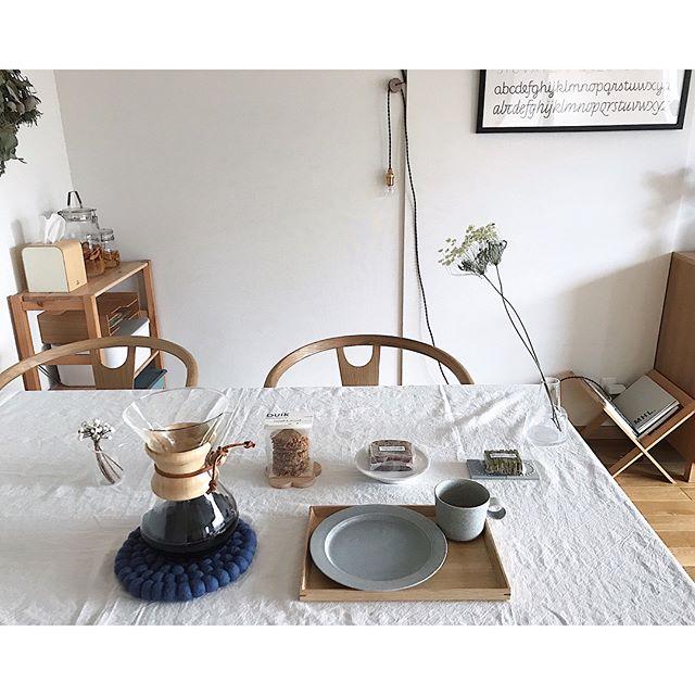 ダイニングテーブル カフェ風
