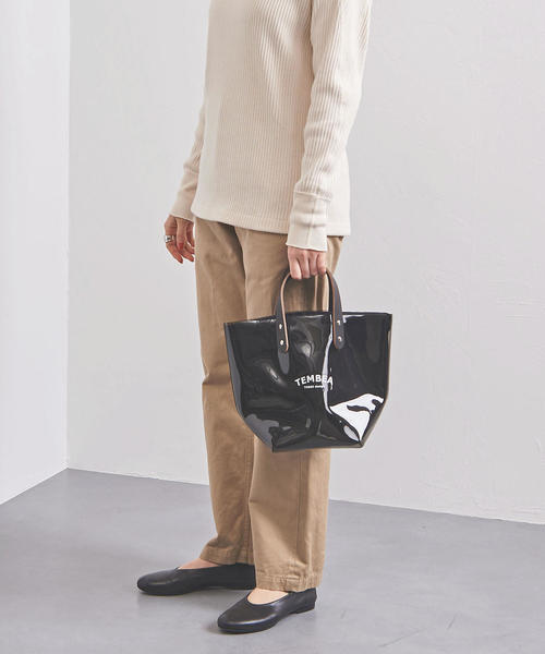 [UNITED ARROWS] <TEMBEA(テンベア)>PVC DELIVERY トートバッグ S†