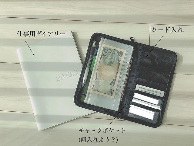 ポリエステルパスポートケース・クリアポケット付①家計管理用に使う2