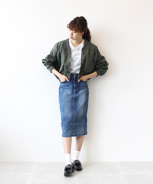 pencil skirt(デニムペンシルスカート)