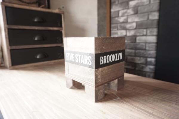 ダイソー 木箱 DIY12