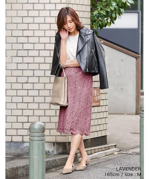 [Re:EDIT] フラワーレースタイトスカート