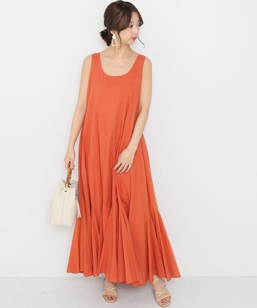 [BEAMS WOMEN] MARIHA / 海の月影のドレス