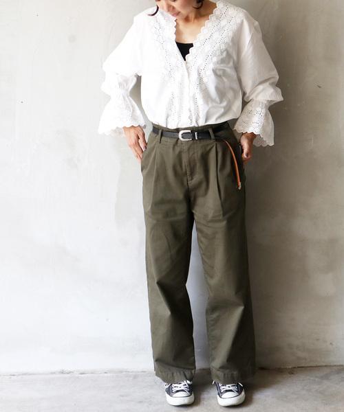[salle de bal] カットワークシャツ
