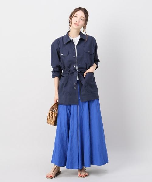 [Spick & Span] 【ORIAN】サファリシャツジャケット