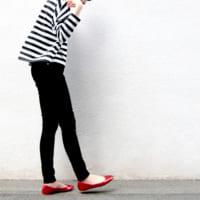 足元の光沢感が魅力♡メタリックカラーの《バレエシューズ》でいつものコーデを格上げ