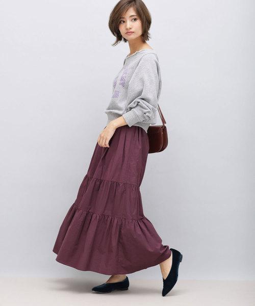 ティアードデザイン スカート2