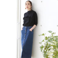 《デニムスカート》で爽やかに♡春の大人カジュアルコーデ15選!