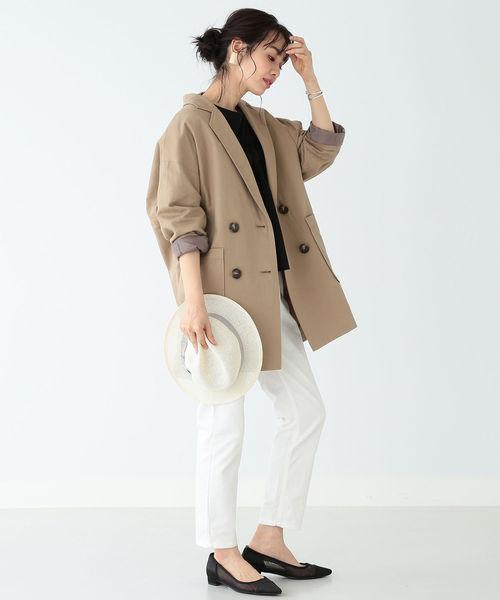 テーラードジャケットコーデ37