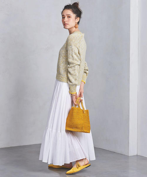ティアードデザイン スカート