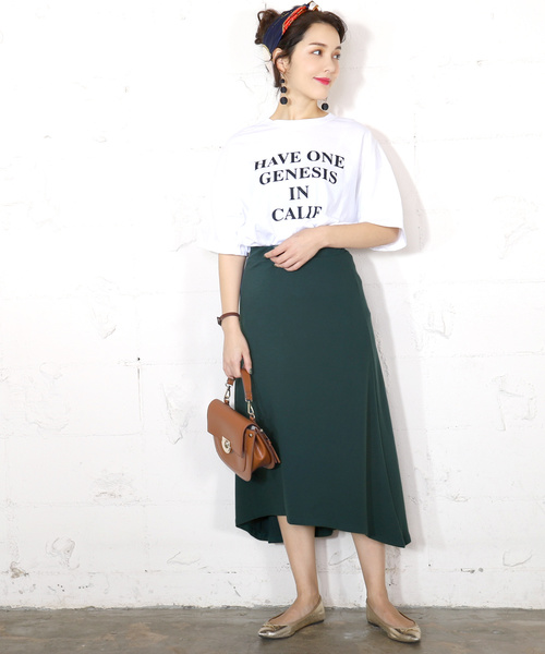 [coca] やわらかストレッチフィッシュテールスカート