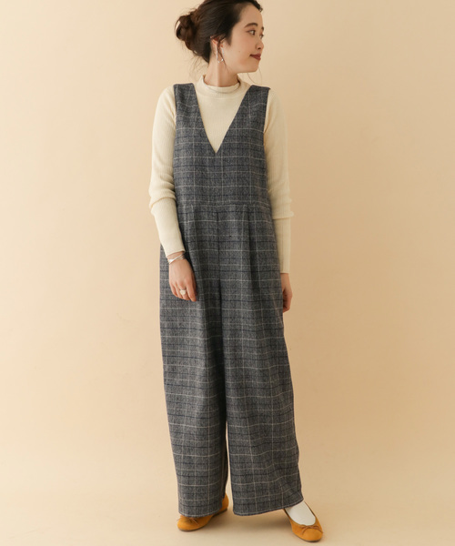[ITEMS URBANRESEARCH] チェックサロペット