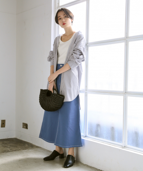 カツラギAラインスカート