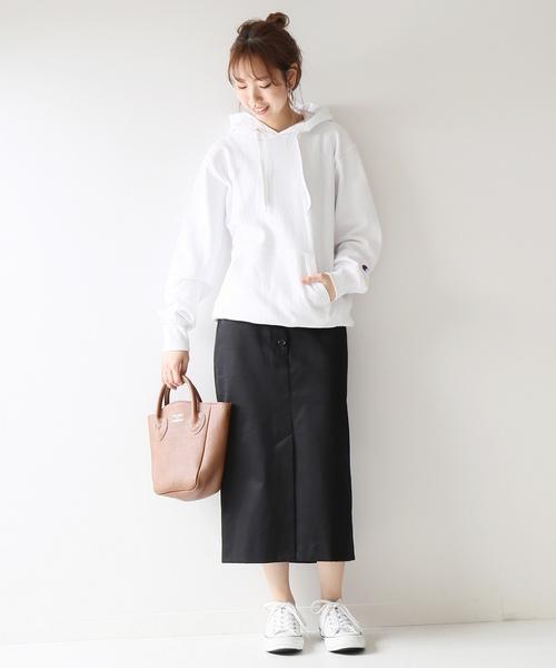 [Spick & Span] フロントボタンタイトスカート◆