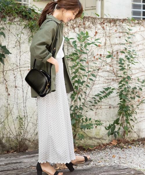 [ViS] 【泉里香さん着用】バックポケットハーフムーンショルダーバッグ