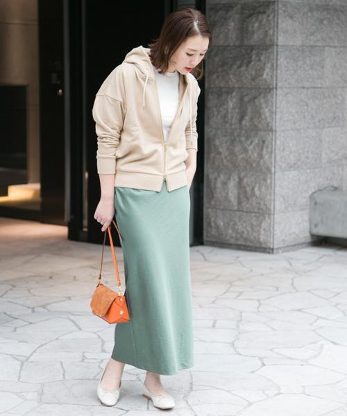 [URBAN RESEARCH ROSSO WOMEN] マーメイドサテンスカート