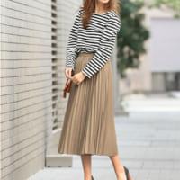 春に着るベージュのスカート♡参考にしたい大人の春コーデ15選