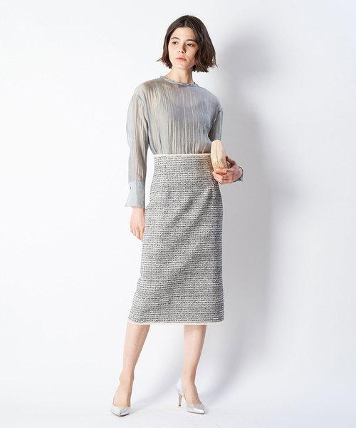 [Whim Gazette] LA TORRE ツイードスカート