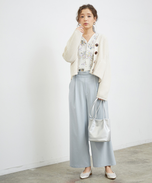 [BEAUTY&YOUTH UNITED ARROWS] BY ツイルタックワイドパンツ