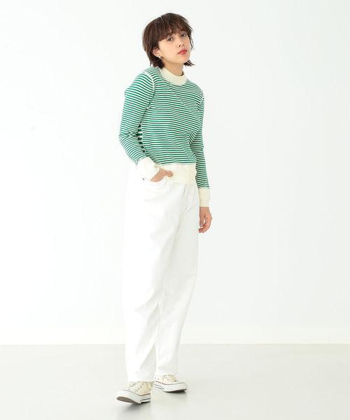 orslow / White Monroe Denim Pants