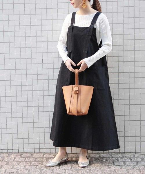 【WEB限定】Dカン付ジャンパースカート